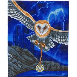 LED HEART OF THE STORM OWL...