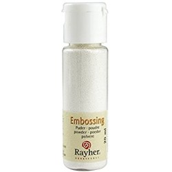 POUDRE EMBOSSING BLANC RAYHER