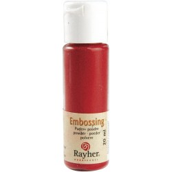POUDRE EMBOSSING ROUGE 20ML...