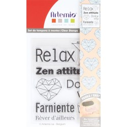 "TAMPON CLEAR ""RELAX"" ARTEMIO"
